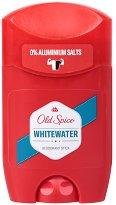 """Old Spice Whitewater Deodorant Stick - Стик дезодорант за мъже от серията """"Whitewater"""" - душ гел"""
