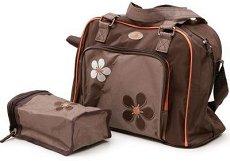Чанта - Nolla - Аксесоар за детска количка с подложка за преповиване и термо-бокс -