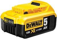 """Батерия DCB184-XJ - 18 V/5000 mAh - Акумулаторна батерия за инструменти """"DeWalt"""" -"""