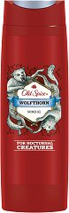 "Old Spice Wolfthorn Shower Gel - Душ гел за мъже oт серията ""Wolfthorn"" -"