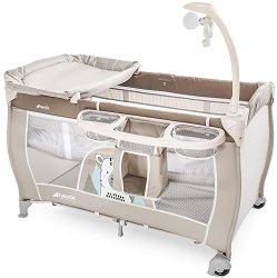 Сгъваемо бебешко легло на две нива - Babycenter - Комплект с аксесоари -