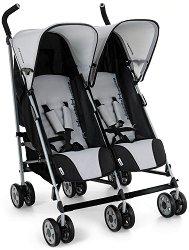Комбинирана бебешка количка за близнаци - Turbo Duo - С 6 колела - количка