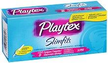 Playtex Slimfits Super - Дамски тампони с апликатор в опаковка от 8 броя - тампони