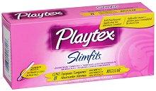 Playtex Slimfits Regular - Ароматизирани дамски тампони с апликатор в опаковка от 8 броя -