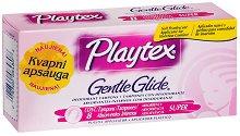 Playtex Gentle Glide Super - Ароматизирани дамски тампони с апликатор в опаковка от 8 броя - тампони
