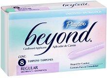 Playtex Beyond Regular - Дамски тампони с апликатор в опаковка от 8 броя - тампони
