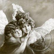 Салфетки за декупаж - Ангели