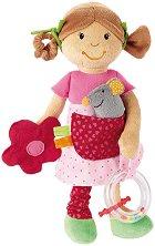 Дрънкалка с дъвкалка - Кукла - За бебета над 3 месеца - играчка