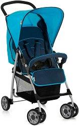 Лятна бебешка количка - Sport: Moonlight Capri - С 4 колела -