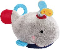 Кит - Бебешка плюшена играчка с дъвкалка - играчка