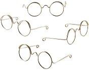 Очила за кукли - Комплект от 10 броя  с ширина 50 mm
