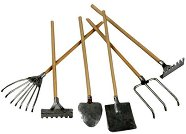 Мини градински инструменти - Комплект от 20 броя с дължина 11 cm