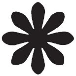 Пънч - Цветче с 8 листа
