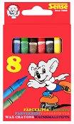 Цветни пастели - Комплект от 8, 12 и 24 броя