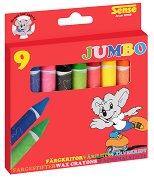 Цветни пастели - Jumbo - Комплект от 9 броя