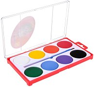 Акварелни бои - Палитра от 8 цвята с четка