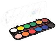 Акварелни бои - Палитра от 12 цвята с четка