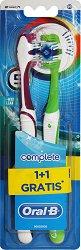 Oral-B Complete 5 Way Clean - Medium - Четка за зъби 1 + 1 подарък - дезодорант