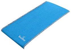 """Синя допълнителна хавлиена подложка - Аксесоар за бебешки повивалник """"Fluffy"""" - продукт"""