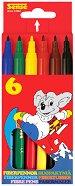 Цветни флумастери - Комплект от 6, 12 и 24 броя