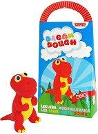 Забавно тесто за моделиране - Динозавърчето Дино - играчка