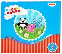 Забавно тесто за моделиране - Панда, прасе и слонче - играчка