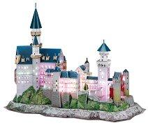 Замъкът Нойшванщайн, Бавария - Светещ 3D пъзел -