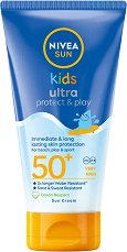 """Nivea Kids Swim & Play Sun Lotion - Детски слънцезащитен лосион от серията """"Sun"""" - лосион"""