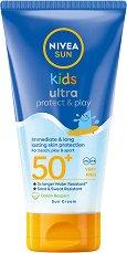 Nivea Sun Kids Swim & Play Sun Lotion - мляко за тяло