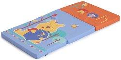 Сгъваем матрак за бебешко креватче - Sleeper: Pooh - Размер 60 x 120 cm - пъзел