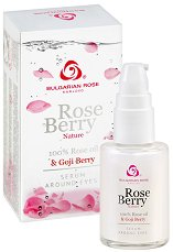 """Серум за околоочен контур с розово масло и годжи бери - От серията """"Rose Berry"""" -"""