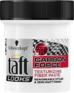 Taft Looks Carbon Force Fiber Paste - Текстурираща паста за коса с микро-карбонови нишки -