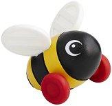 Пчеличка - Дървена играчка за дърпане и бутане -