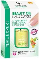 "Golden Rose Nail Expert Beauty Oil Nail & Cuticle - Олио за нокти и кутикули от серията ""Nail Expert"" - шампоан"
