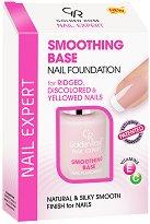 """Golden Rose Nail Expert Smoothing Base Nail Foundation - Изглаждаща база за нокти от серията """"Nail Expert"""" - лак"""