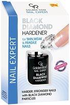 """Golden Rose Nail Expert Black Diamond Hardener - Заздравител за нокти с черен диамант от серията """"Nail Expert"""" - лак"""