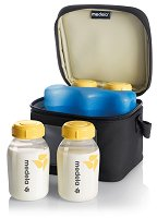 Хладилна чанта - Cooler Bag - Комплект с 4 шишета от 150 ml -