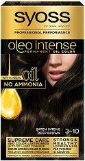 Syoss Oleo Intense - Трайна крем боя за коса без амоняк - мокри кърпички