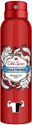 """Old Spice Wolfthorn Deodorant Spray - Дезодорант за мъже от серията """"Wolfthorn"""" - душ гел"""