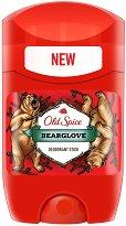 """Old Spice Bearglove Deodorant Stick - Стик дезодорант за мъже от серията """"Bearglove"""" - душ гел"""