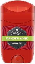 """Old Spice Danger Zone Deodorant Stick - Стик дезодорант за мъже от серията """"Danger Zone"""" - душ гел"""