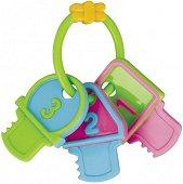 Дъвкалка - Пъстри ключове - За бебета от 3 до 6 месеца -