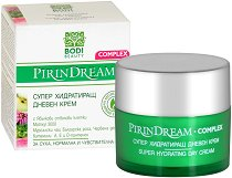 "Bodi Beauty Pirin Dream Complex Super Hydrating Day Cream - Хидратиращ дневен крем за лице от серията ""Pirin Dream Complex"" - крем"