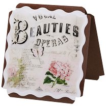 Поздравителна картичка - Beauties operas -