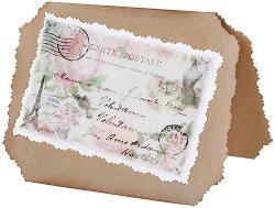 Поздравителна картичка - Carte postale -
