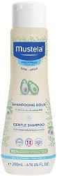 Mustela Gentle Shampoo - Нежен шампоан за бебета и деца - мокри кърпички