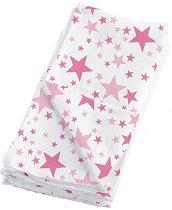 Бебешки муселинови пелени - Swaddling Blankets: Stars - Комплект от 2 броя -