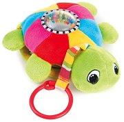 Костенурка - Мека музикална играчка за детска количка и легло -