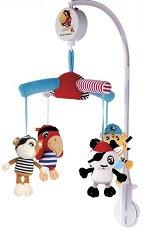 Музикална въртележка - Пирати - Играчка за бебешко креватче -