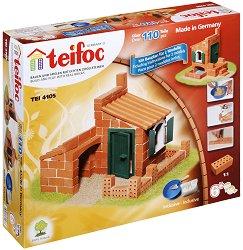 Къща - Детски сглобяем модел от истински тухлички -